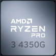 AMD Ryzen 3 PRO 4350G 3.8GHz 4C/8T 65W AM4 APU with Radeon Graphics