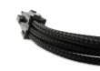 Black Braided 6-pin PCI-E Extension