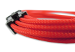 Gelid Red Braided 6+2-pin PCIe Extension Cable