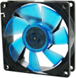 Wing 8 UV Blue 80mm High Performance Case Fan
