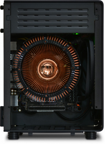 Internal view of the NanoQube Plus AMD Fanless